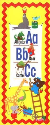 ABC Animals Bookmark