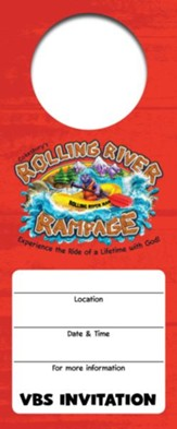 Rolling River Rampage: Promotional Door Hangers (Pkg of 24)