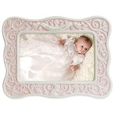 Baptized in Christ Photo Frame, Pink
