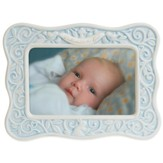 Dedicated to the Lord Photo Frame, Blue