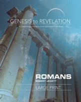 Romans Participant Book, Large Print (Genesis to Revelation Series)