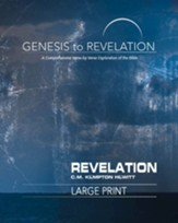 Revelation, Participant Book, Large Print (Genesis to Revelation Series)