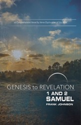 1&2 Samuel, Participant Book (Genesis to Revelation Series)