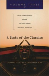A Taste of the Classics: Crime & Punishment, Penses, The Great Divorce & Christian Perfection