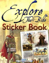 Explore the Bible--Sticker Book