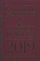 Calendar & Workbook for Church Leaders - 2019