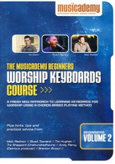 Beginners Worship Keyboard Course, Volume 2
