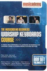 The Musicademy Beginners Worship Keyboards Course--DVD Set