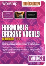 Harmony & Backing Vocals In Worship, Volume 2