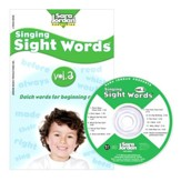 Singing Sight Words Volume 3 CD/Book Kit