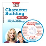 Character Building Songs Kit (Book & Audio CD)