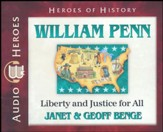William Penn: Liberty & Justice for All Audiobook on CD