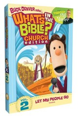 What's in the Bible? #2: Let My People Go! - Church Edition, DVD  - Slightly Imperfect