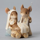 Heart of Christmas Mouse Nativity Set 2 Pieces