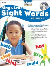 Sing and Learn Sight Words, Volume 2 Audio CD