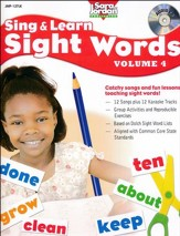 Sing and Learn Sight Words, Volume 4 Audio CD