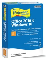 Professor Teaches Office 2016 & Windows 10 (with Download Code & DVD-ROM)