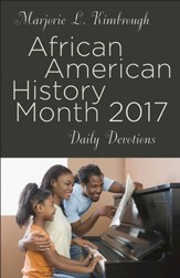 African American History Month Daily Devotions 2017 - eBook