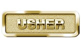 Usher Badge, Brass