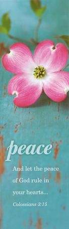 Peace of God, Bookmarks, 25