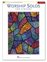 Worship Solos for Singers: Low Voice (Book/CD)