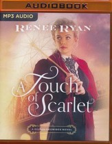 A Touch of Scarlet - unabridged audio book on MP3-CD