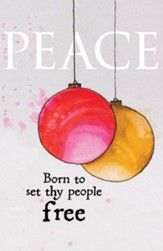 Peace Ornament Advent Bulletins, 50