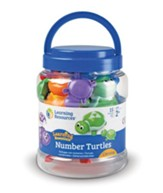 Snap-n-Learn Number Turtles, 15 Pieces