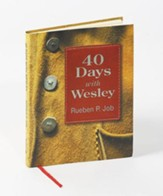 40 Days with Wesley: A Daily Devotional Journey - eBook