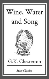 Wine, Water and Song - eBook