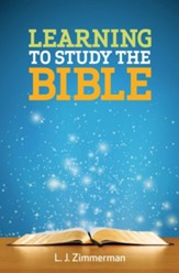 Learning to Study the Bible, Participant Book