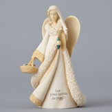 Angel with Ornaments Figure