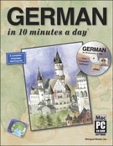 GERMAN in 10 minutes a day® with CD-ROM  - Slightly Imperfect