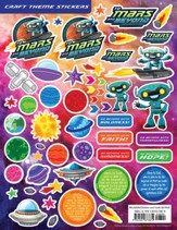 To Mars and Beyond: Craft Theme Stickers (Pkg. of 12)