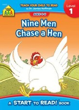 Start to Read: Nine Men Chase a Hen, Level 1