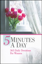 5 Minutes a Day: 365 Daily Devotions for Women - Slightly Imperfect