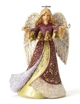Victorian Angel with Bell Figure