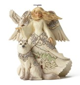 Woodland Angel Figure, White