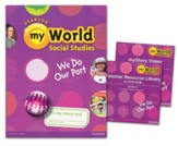 myWorld Social Studies Grade 2 Homeschool Bundle