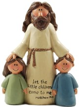 Jesus with Children, Let the Little Children Come