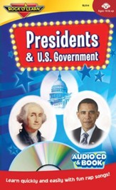 Presidents & U.S. Government--Book and CD
