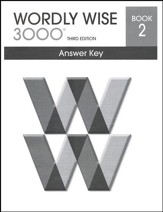 Wordly Wise 3000 3rd Edition Answer Key Book 2