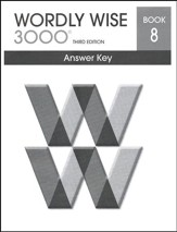 Wordly Wise 3000 3rd Edition Answer Key Book 8