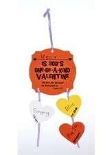 You Are God's One-of-a-Kind Valentine Foam Activity Kit