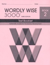Wordly Wise 3000 Book 2 Test 3rd Ed.
