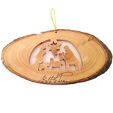 Nativity Ornament, Oval