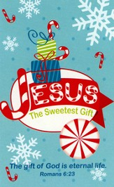 Jesus is the Sweetest Gift Activity Booklet with Stickers