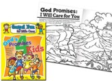 God's Promises for Kids Gospel Fun for Little Ones Activity Book