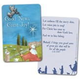 Good News, Great Joy Pin on Card