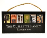 Personalized, Hanging Sign, Family